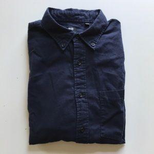 Uniqlo Cotton Flannel, Navy